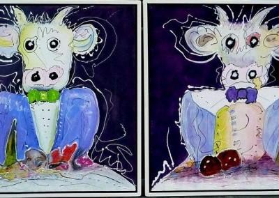 Tweeluik koeien