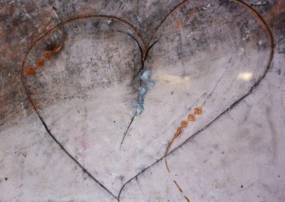 Loden hart